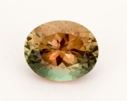 3.7ct Oregon Sunstone, Bicolor Rootbeer Oval (S2161)