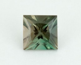 .8ct Oregon Sunstone, Green Princess-Cut Square (S2156)