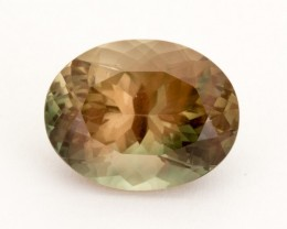 5.7ct Oregon Sunstone, Pink/Green Oval (S2213)