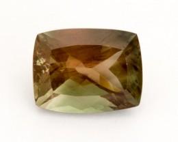 6.8ct Oregon Sunstone, Green/Peach Rectangle (S2210)