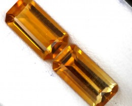 CITRINE NATURAL FACETED 2.60 CTS CG-57
