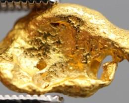 100% NATURAL AUSTRALIAN GOLD NUGGET 1.286 GRAM