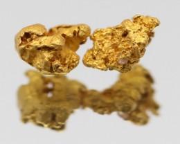 100% NATURAL AUSTRALIAN GOLD NUGGET 0.292 GRAM