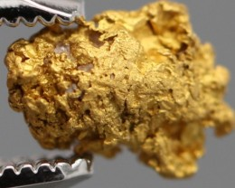 100% NATURAL AUSTRALIAN GOLD NUGGET 0.488 GRAM