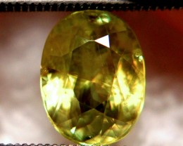 3.0 Carat Vibrant Green  Russian Sphene - VS/SI - Lovely