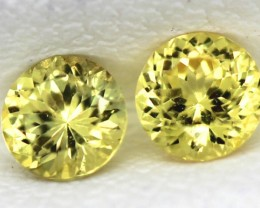 0.29 CTS  CERTIFIED YELLOW SAPPHIRE UNTREATED  TBM-91