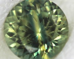 CERTIFIED GREEN YELLOW SAPPHIRE UNTREATED 0.51 CTS TBM-92