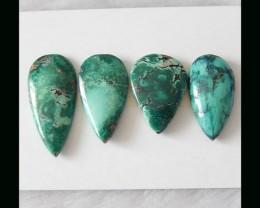 4PSC Turquoise Cabochon Set