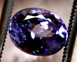 2.32 Carat VVS1 Purple/Blue African Tanzanite - Gorgeous