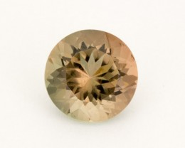 4.2ct Oregon Sunstone, Bicolor Rootbeer Round (S2162)