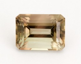 6.4ct Champagne Rootbeer Emerald Cut Sunstone (S2172)
