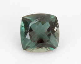 1.8ct Green/Dichroic Square Oregon Sunstone (S2194)