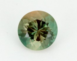 2.1ct Oregon Sunstone, Green/Clear Round (S2195)