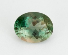 2.5ct Oregon Sunstone, Green/Clear Oval (S2198)