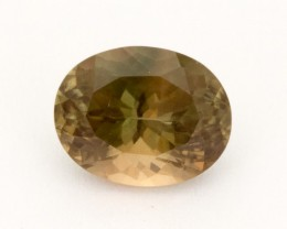 2.9ct Oregon Sunstone, Dichroic/Clear Oval (S2200)