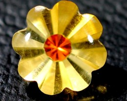 CIRTINE FLOWER CARVING  1.6  CTS  LG-8