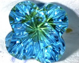 TOPAZ FLOWER CARVING  2.20  CTS  LG-16