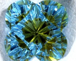 TOPAZ FLOWER CARVING  2.20  CTS  LG-18