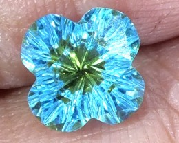 TOPAZ FLOWER CARVING  2.06  CTS  LG-25