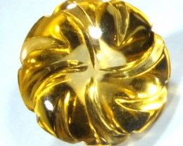 CITRINE FLOWER CARVING  4.60  CTS  LG-35