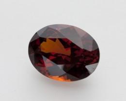 7.3ct Red Rhodolite Garnet, Oval (GR31)