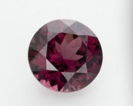 4ct Raspberry Rhodolite Garnet, Round (GR42)