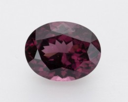 4ct Raspberry Rhodolite Garnet, Oval (GR43)