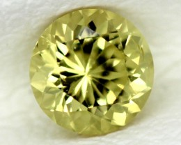 CERTIFIED YELLOW SAPPHIRE UNTREATED 0.54  CTS  TBM-104-TRUEBLUEMINERALS