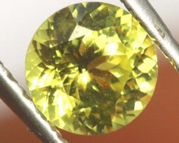 CERTIFIED YELLOW SAPPHIRE UNTREATED 0.54 CTS  TBM-107