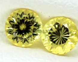 0.33 CTS  CERTIFIED YELLOW SAPPHIRE UNTREATED TBM-108