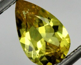 1.04cts CERTIFIED YELLOW SAPPHIRE UNTREATED   TBM-325