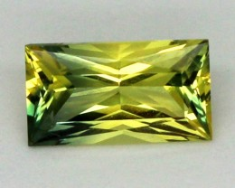 0.99CTS CERTIFIED BAGUETTE YELLOW SAPPHIRE UNTREATED TBM-327