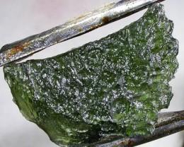 21.44 CTS GREEN MOLDAVITE   NATURAL   [MGW3731]
