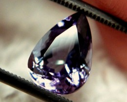 2.96 Carat IF/VVS1 African Tanzanite - Gorgeous