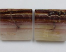 7.95 CTS JASPER PAIR POLISHED STONES GREAT RANGE IN STORE