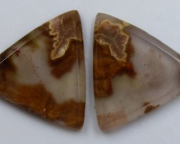 4.15 CTS AGATE PAIR POLISHED STONES GREAT RANGE IN STORE