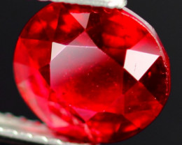 4.20Ct Huge Cherry Blood Red Madagascar Ruby