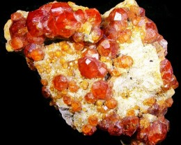 165.00 CTS ORANGE SPESSARTITE SPECIMEN  [MGW3774]