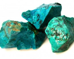 105 CTS CHRYSOCOLLA ROUGH  RG-291
