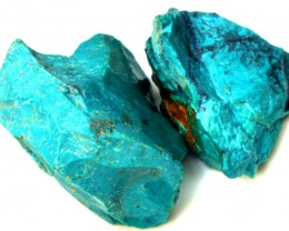 90.80 CTS CHRYSOCOLLA ROUGH    RG-294
