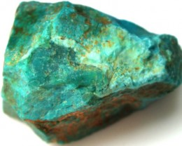 89.5 CTS CHRYSOCOLLA ROUGH   RG-295
