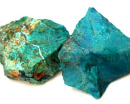 89.5 CTS CHRYSOCOLLA ROUGH    RG-299