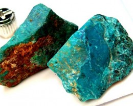 89 CTS CHRYSOCOLLA ROUGH    RG-285