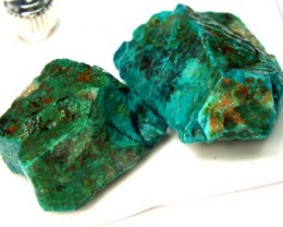88 CTS  CHRYSOCOLLA ROUGH   RG-289