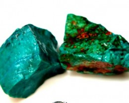 77 CTS  CHRYSOCOLLA ROUGH   RG-290