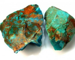 104.5 CTS CHRYSOCOLLA ROUGH    RG-345