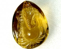 GANESH CARVING   6.30  CTS LT-111