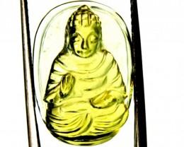 BUDDHA CARVING   14.90  CTS LT-112