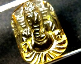 GANESH CARVING   9.55  CTS LT-113