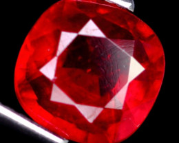 3.07Ct Cherry Blood Red Madagascar Ruby
